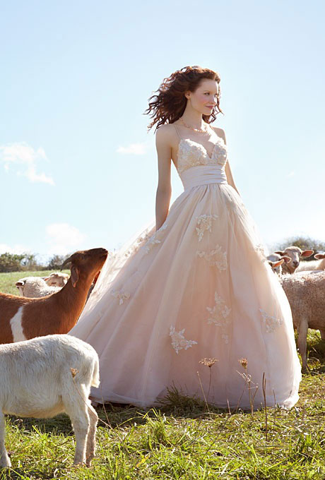 Robe mariage campagne chic