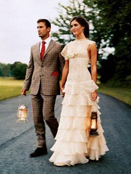 couple habill pour mariage champtre - Costume Mariage Champetre