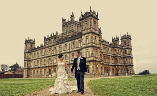 Mariage downton abbey - Chateau downton abbey ...