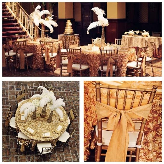 Mariage sur le th me des ann es folles ann es 30 charleston - Decoration annees folles ...