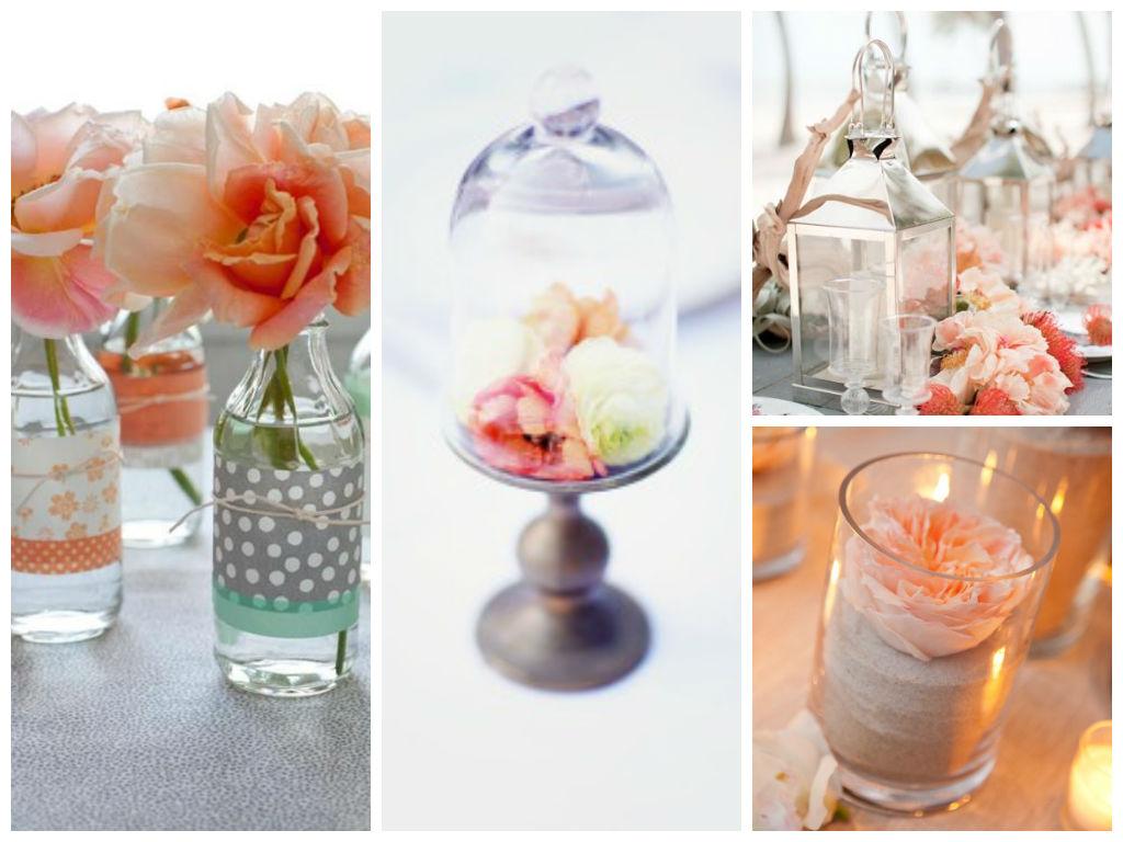 Mariage couleur corail - Pinterest deco mariage ...