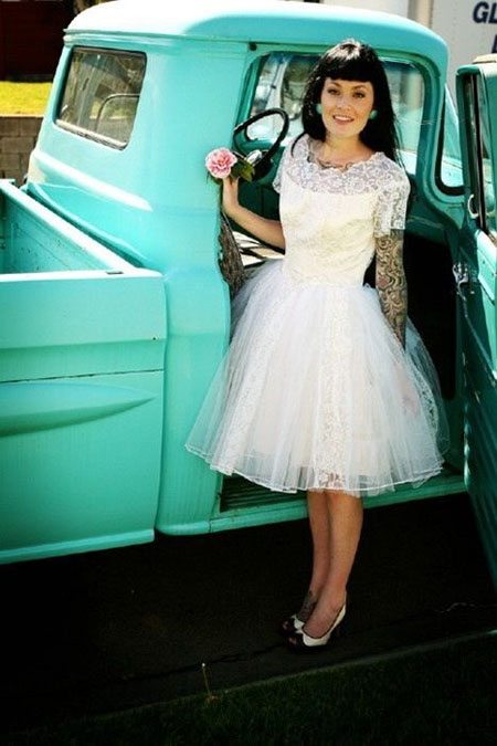 Mariage rockabilly for 50 s pin up wedding dresses