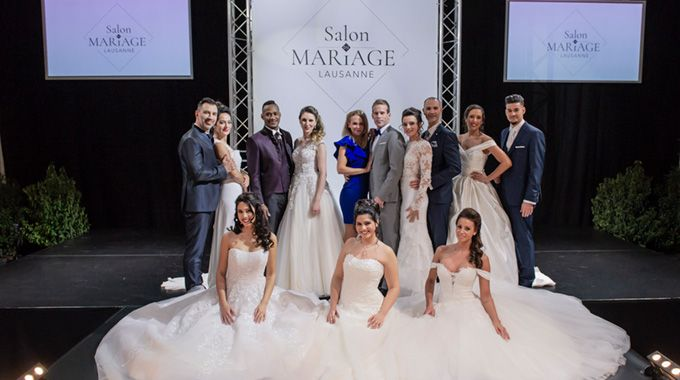 Le salon du mariage de Lausanne a eu lieu ce week-end au palais de Beaulieu.
