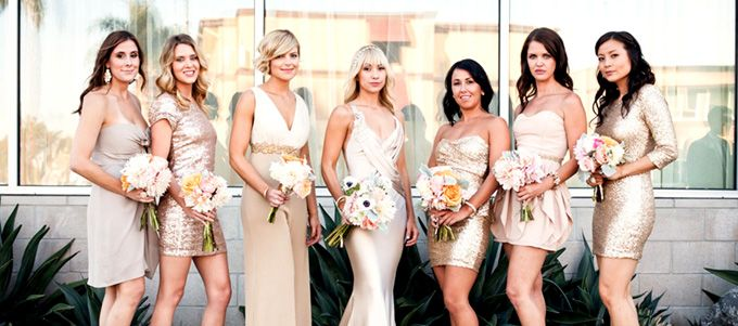 Les nouvelles lignes directrices pour le choix du look de vos demoiselles d'honneur !
