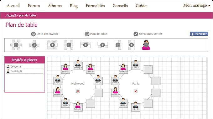 Simplifiez-vous la vie avec le nouvel outil Plan de table de mariage.ch!