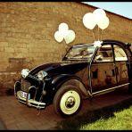 Idée déco voiture mariés