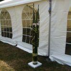 8 décorations en bambou, 50.- / pce