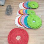 Divers lampions : 50cm 1x rouge 4.- 40cm 3x vert/1x turquoise/1x rose/1x bleu/1x jaune/2x rouge/4x blanc 3.-pièce 30cm 4x vert/1x turquoise/1x rose/2x bleu/1x orange/1x rouge 2.-pièce