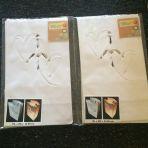 2x 5 lanternes papier coeur (2.- le paquet)
