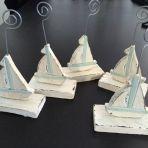 Petit bateau en bois, 5 pièces A VENDRE 2.-/pièce