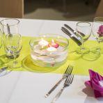15 vases de 16 cm de diamètre  3.- pièce Exemple d'utilisation avec galets blancs+3 bougies flottantes