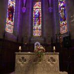 intérieur église petit plus, effet lumière de mon mari